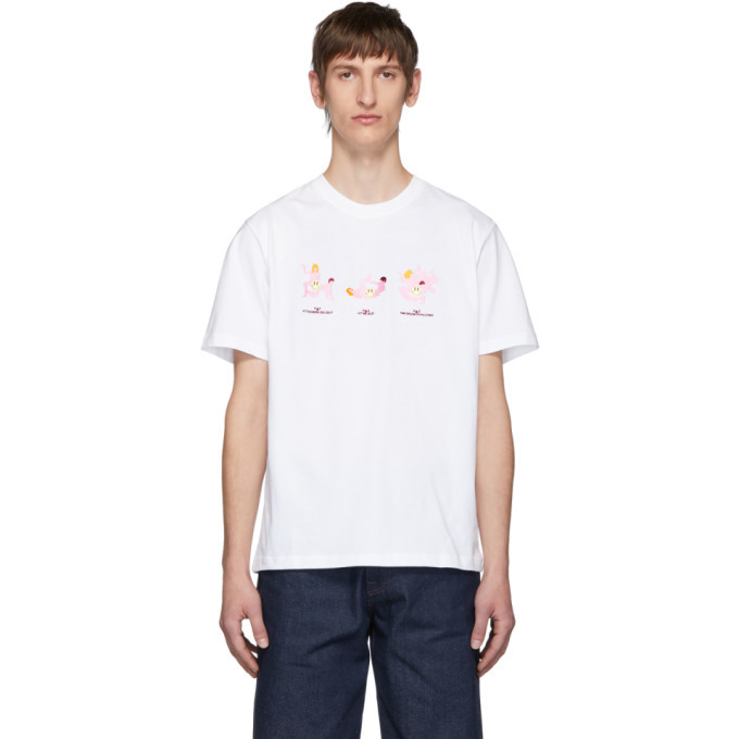 Photo: Carne Bollente White Afternoon Delight T-Shirt