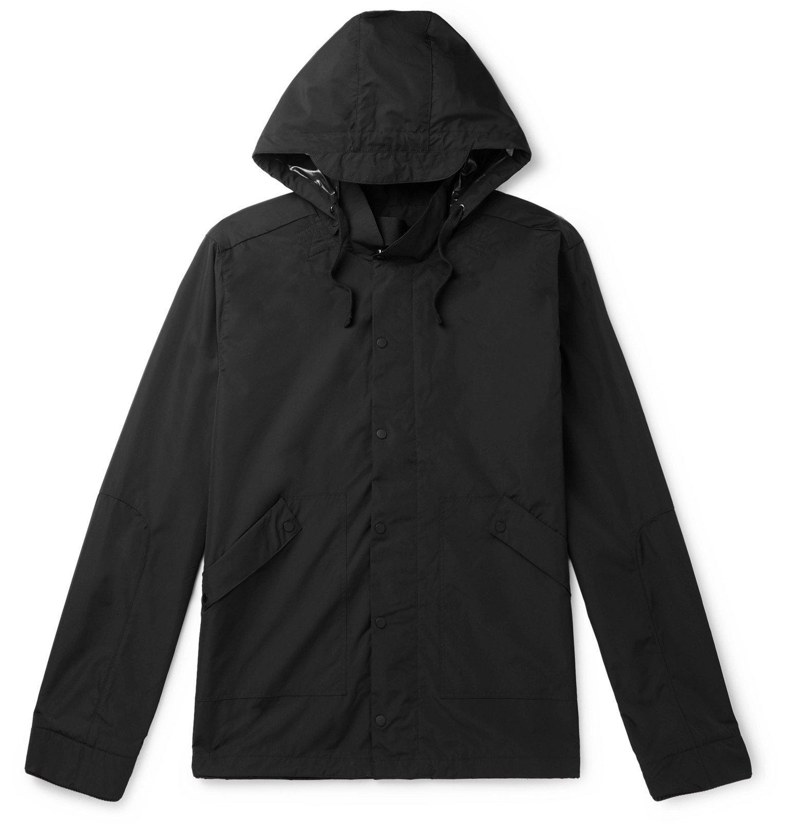 Photo: Folk - Shell Raincoat - Black