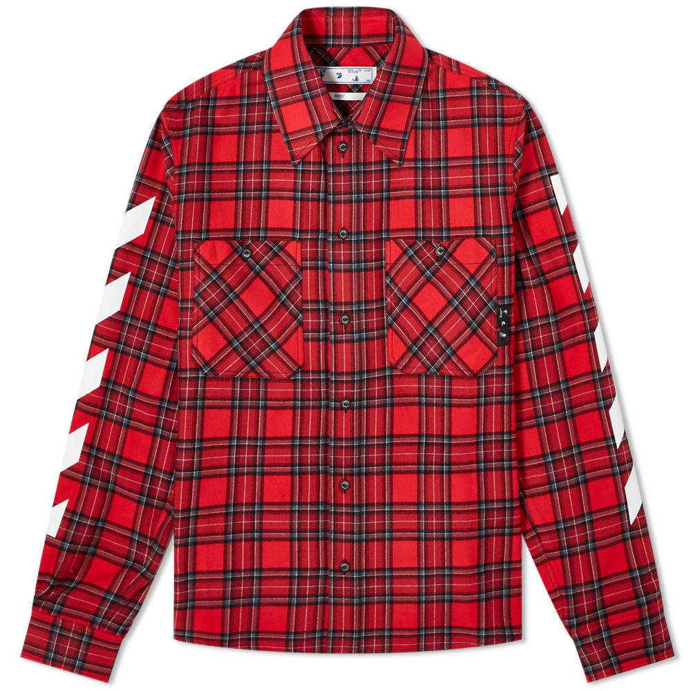 Photo: Off-White Diag Flannel Shirt