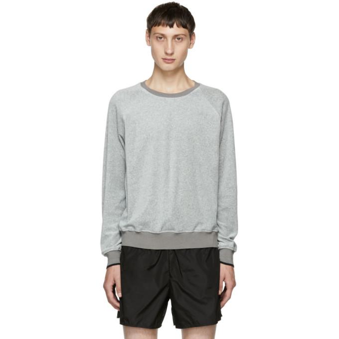 Photo: 3.1 Phillip Lim Grey Classic Velour Sweatshirt