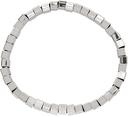 Hugo Silver Beaded-Metal Cuff Bracelet
