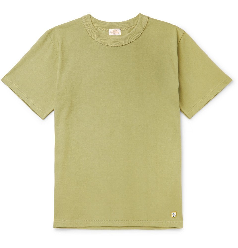 Photo: Armor Lux - Slim-Fit Cotton-Jersey T-Shirt - Green