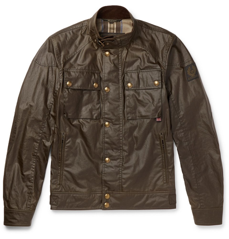 Belstaff - Racemaster Waxed-Cotton Jacket - Men - Brown