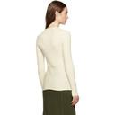 3.1 Phillip Lim White Waist-Tie Sweater