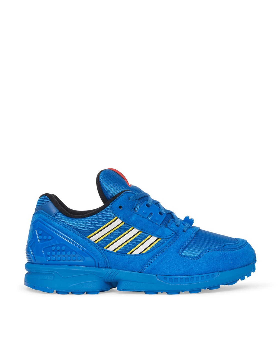 Photo: Adidas Originals Lego Zx 8000 Sneakers Bright Royal/Ftwr White