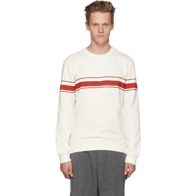 Photo: A.P.C. Off-White Robin Sweatshirt