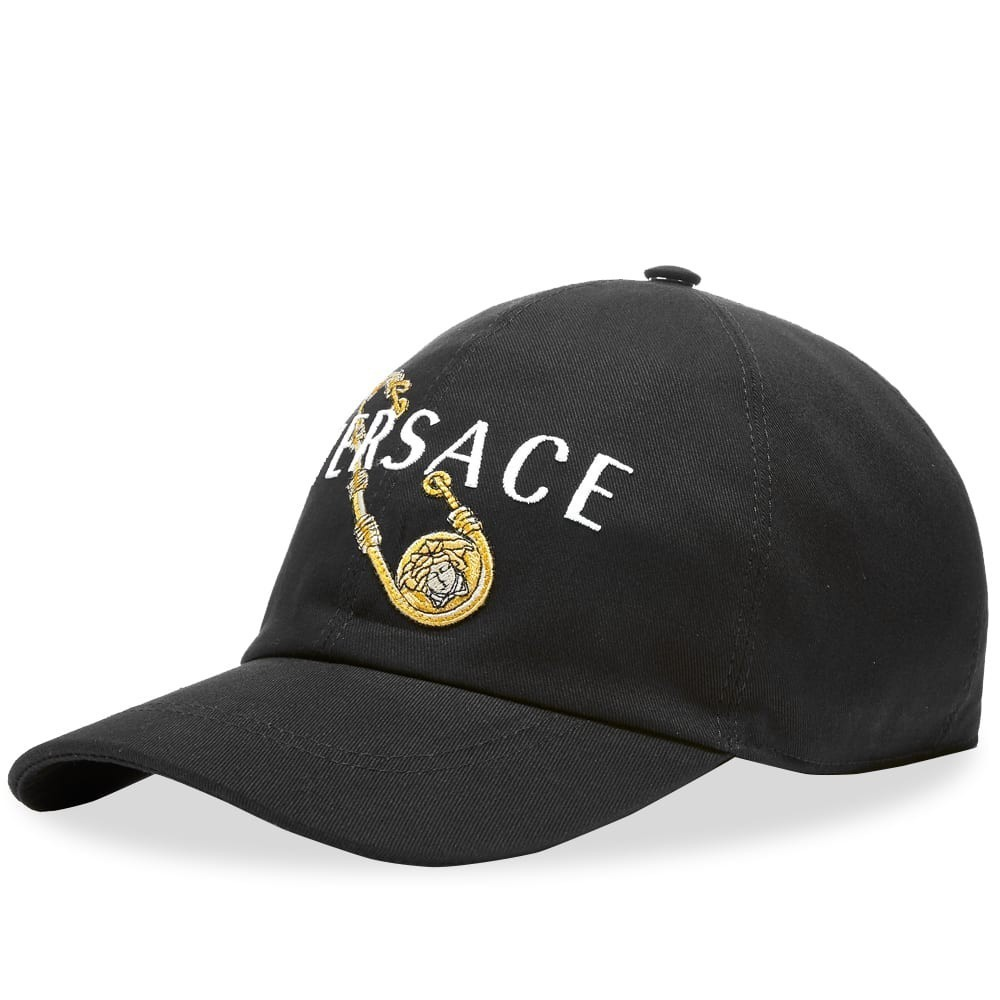Photo: Versace Safety Pin Logo Cap