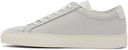 Common Projects Blue Nubuck Achilles Low Sneakers