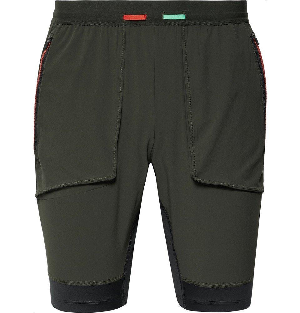 Nike Running - Wild Run Dri-FIT Shorts - Army green