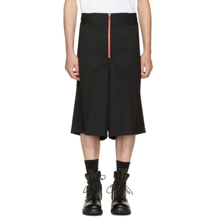 Photo: Ambush Black Wool Boxer Shorts