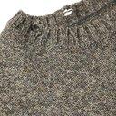 KAPITAL - Oversized Distressed Mélange Intarsia Wool Sweater - Gray