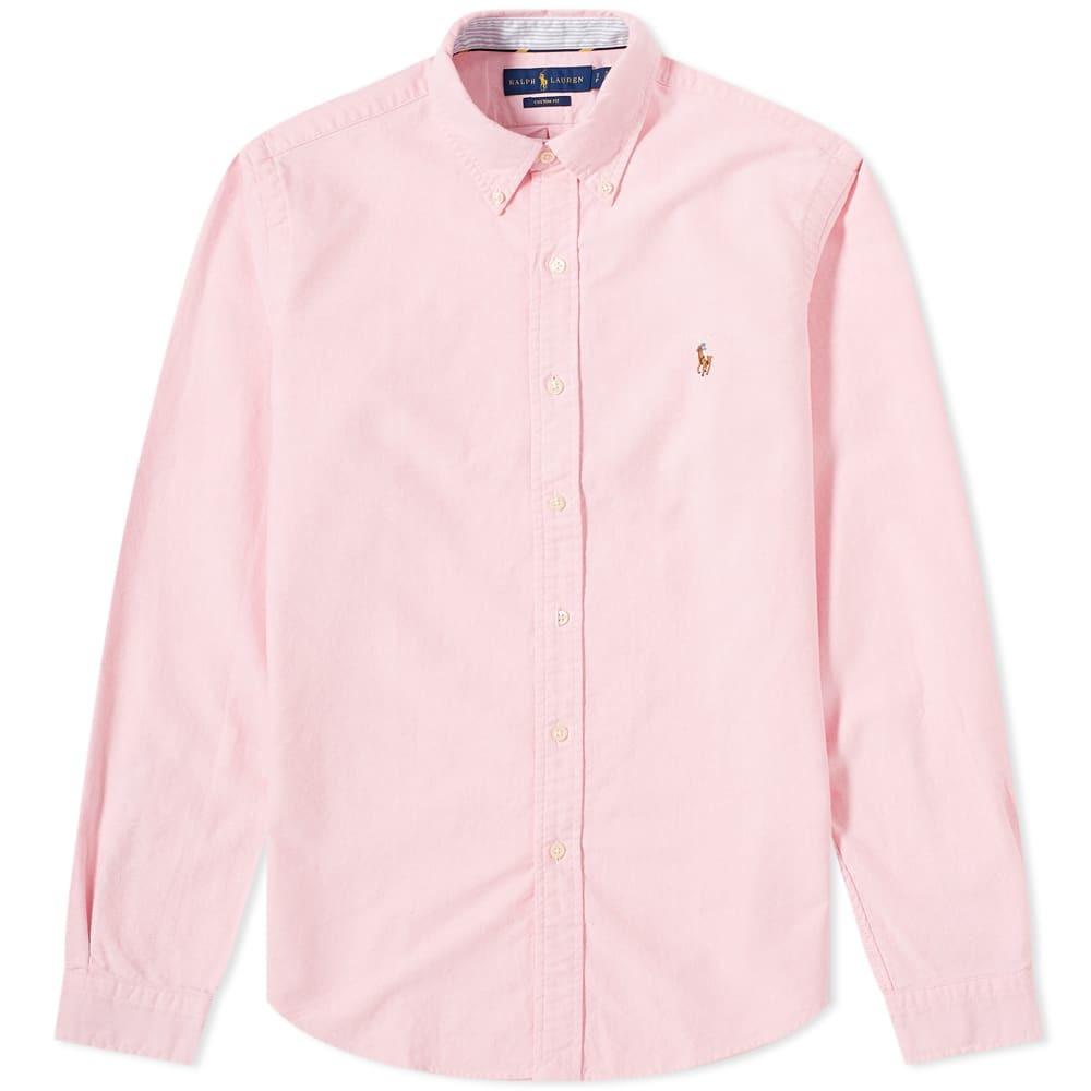 Photo: Polo Ralph Lauren Button Down Custom Fit Oxford Shirt