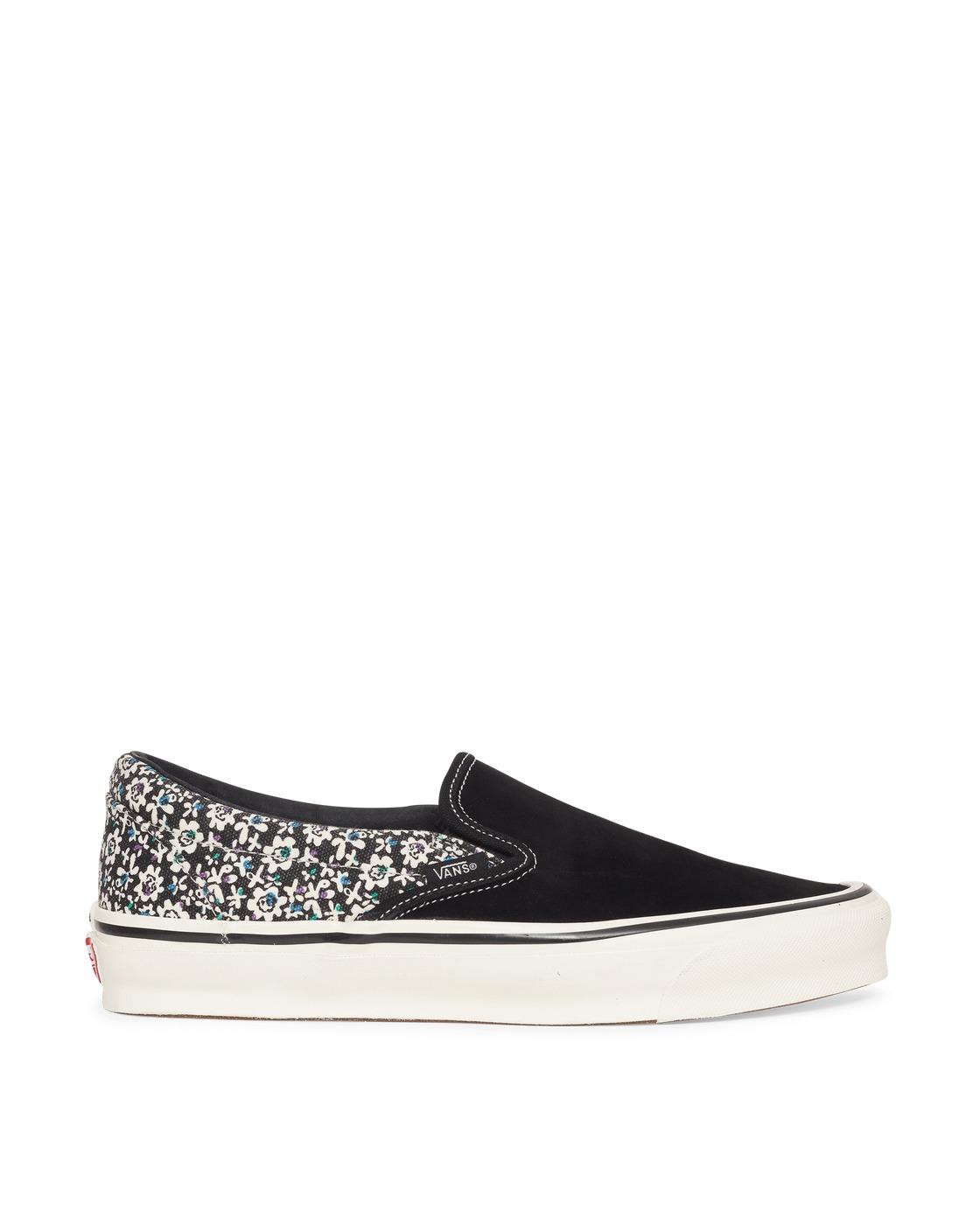Photo: Vans Og Classic Lx Slip On Sneakers Black