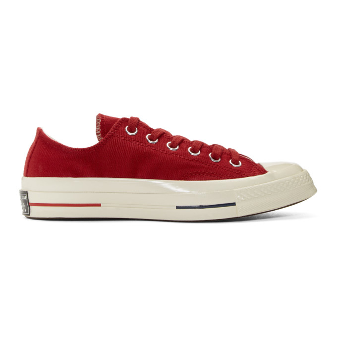 Photo: Converse Red Chuck Taylor All-Star 70 Sneakers