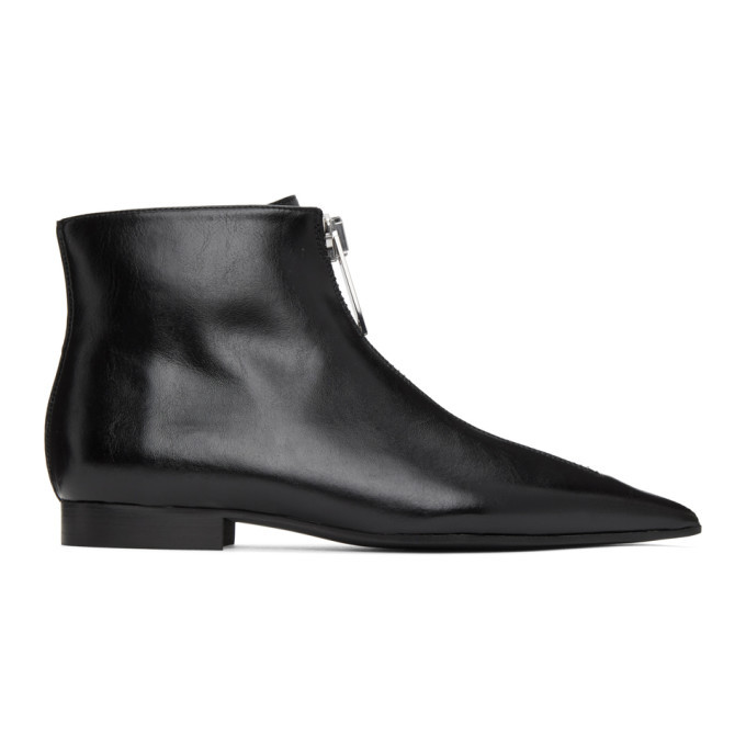 Photo: Stella McCartney Black Zipiti Ankle Boots