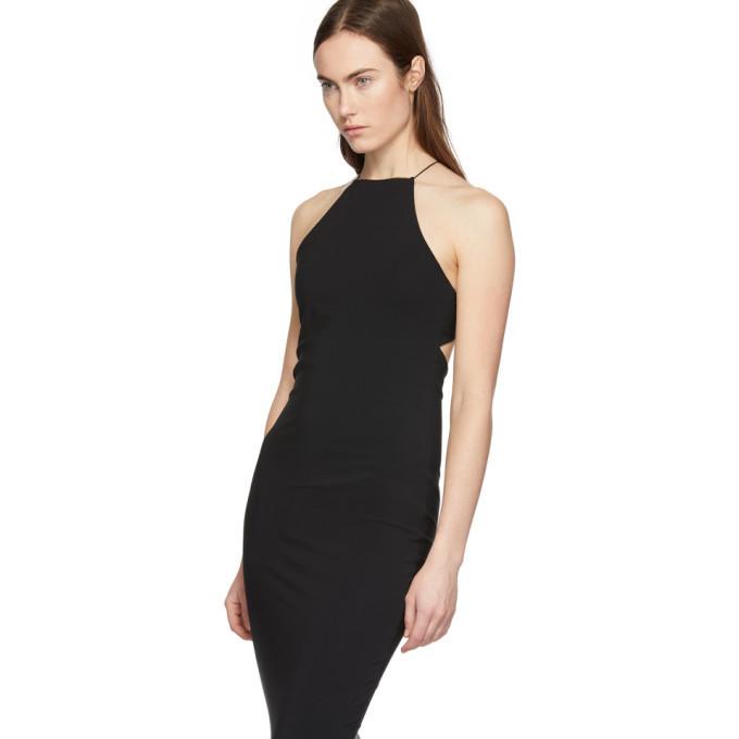 alexanderwang.t Black Swim Jersey Crisscross Back Dress