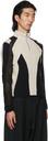 GmbH Black & Grey Paneled Atris Zip-Up Sweater
