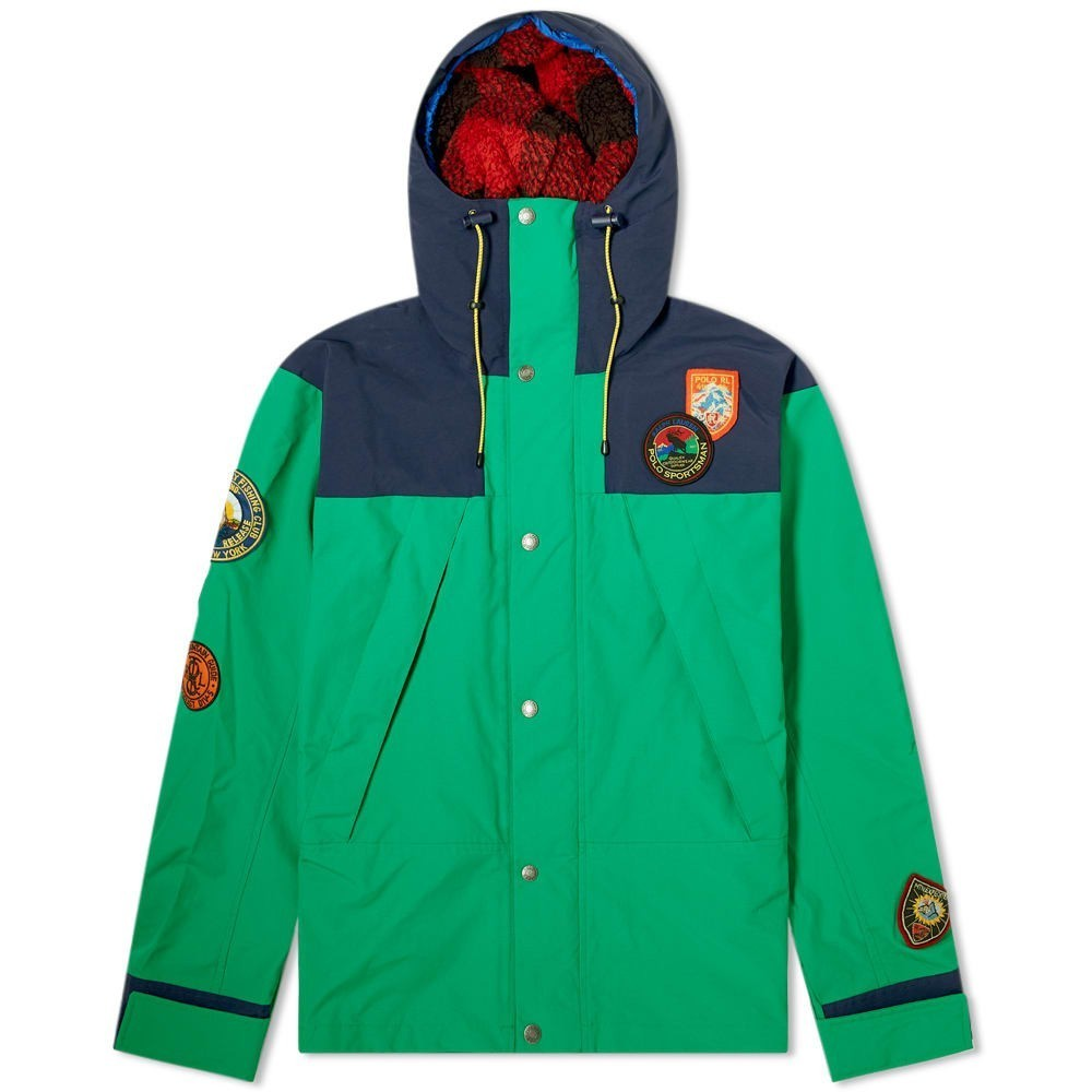 Photo: Polo Ralph Lauren Sportsman Patch Hooded Jacket