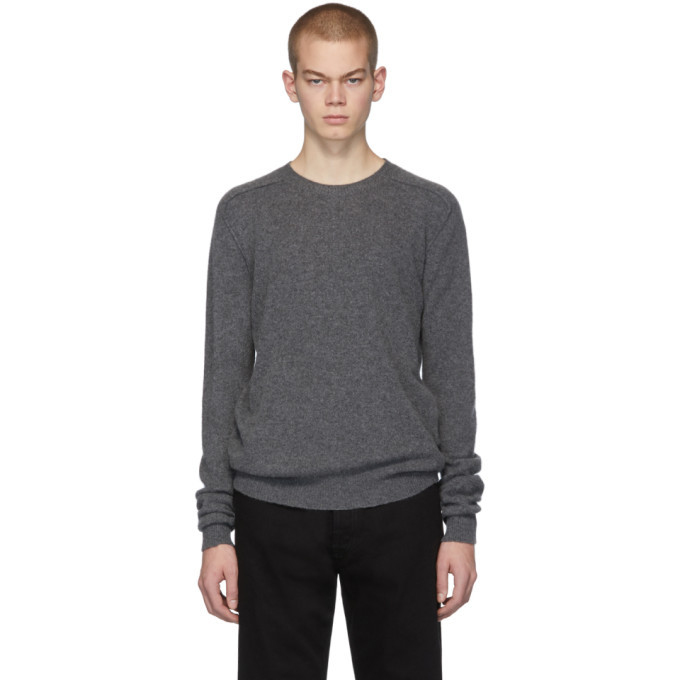 Photo: Bottega Veneta Grey Cashmere Sweater