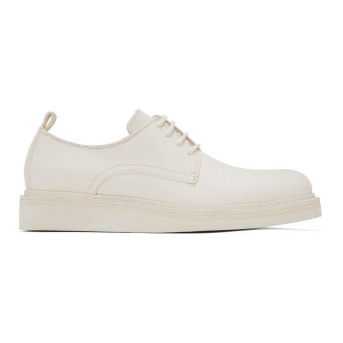 Photo: Ann Demeulemeester White Leather Derbys