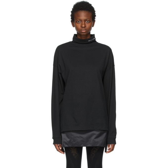 Photo: 1017 ALYX 9SM Black Visual Logo Turtleneck