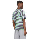 Aries Multicolor Striped Temple T-Shirt