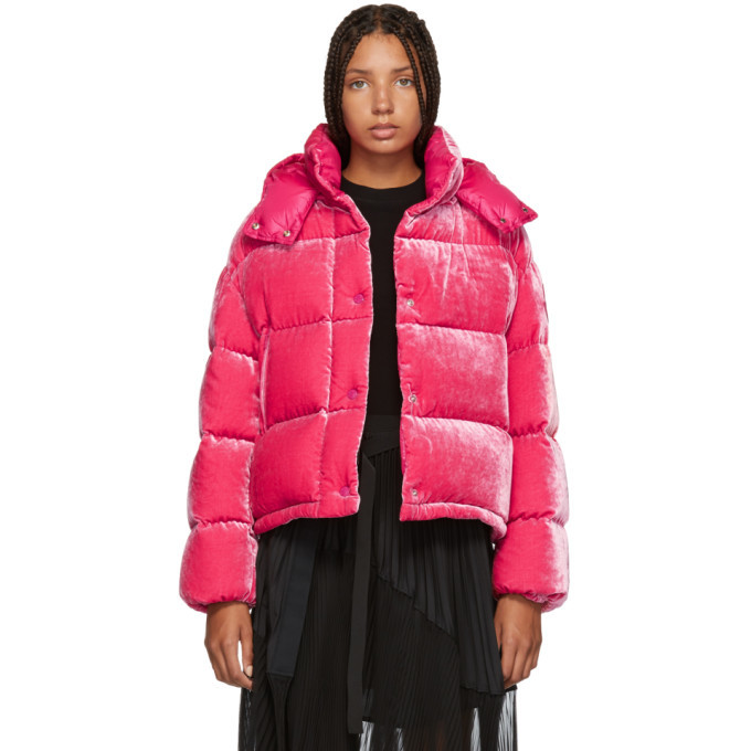 moncler pink vest