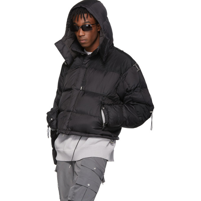 Heliot Emil Black Down Jacket