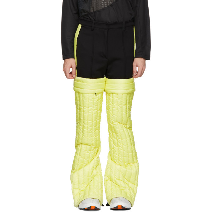 Photo: Colmar A.G.E. by Shayne Oliver Yellow Quilted Trousers