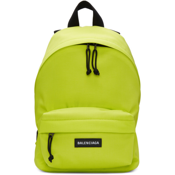 Photo: Balenciaga Green Small Explorer Backpack