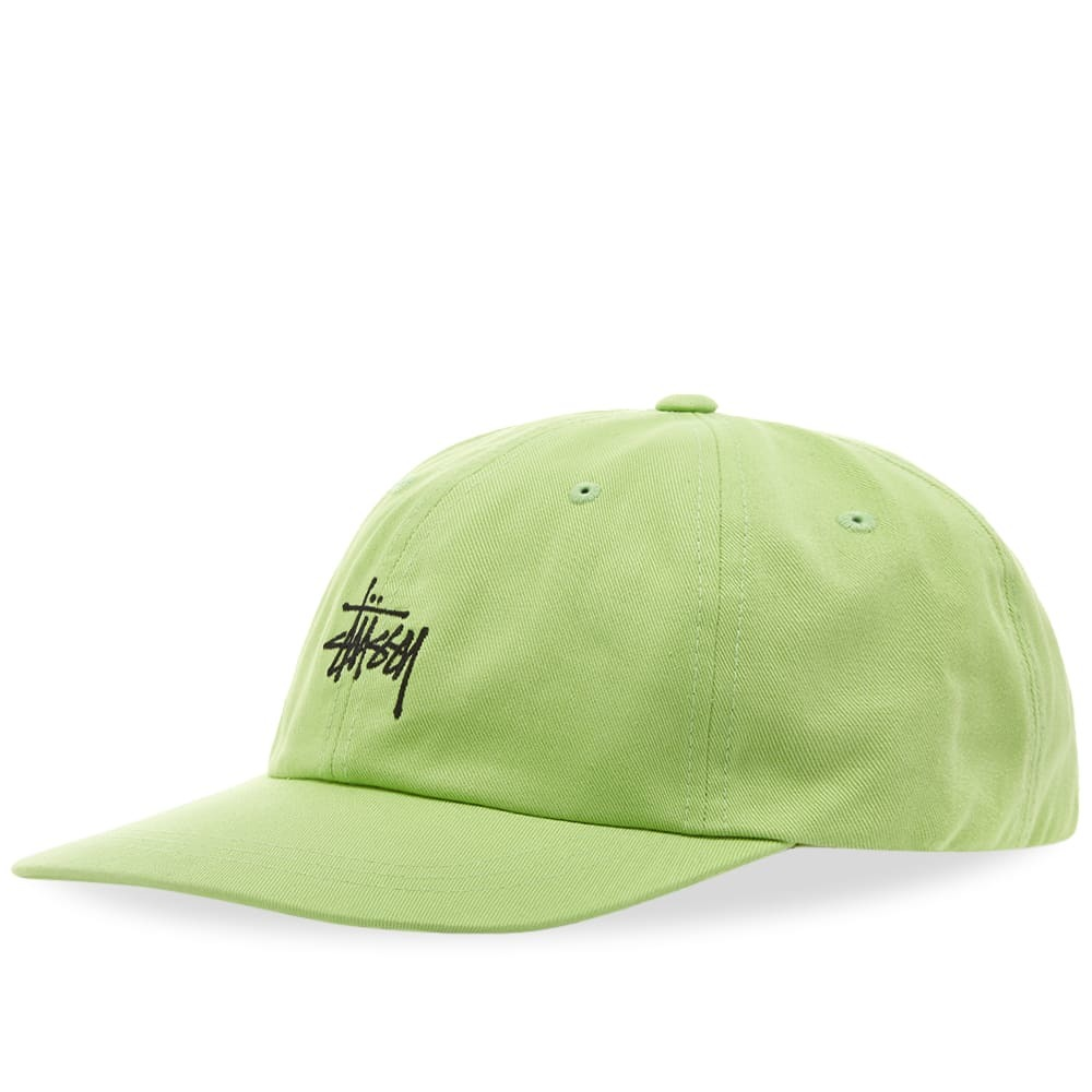 Photo: Stussy Stock Low Pro Cap Lime