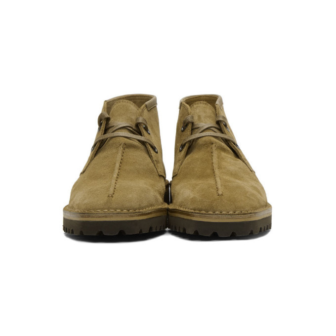 Lemaire Brown Suede Desert Boots