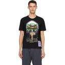 MCQ Black Graphic Regular T-Shirt