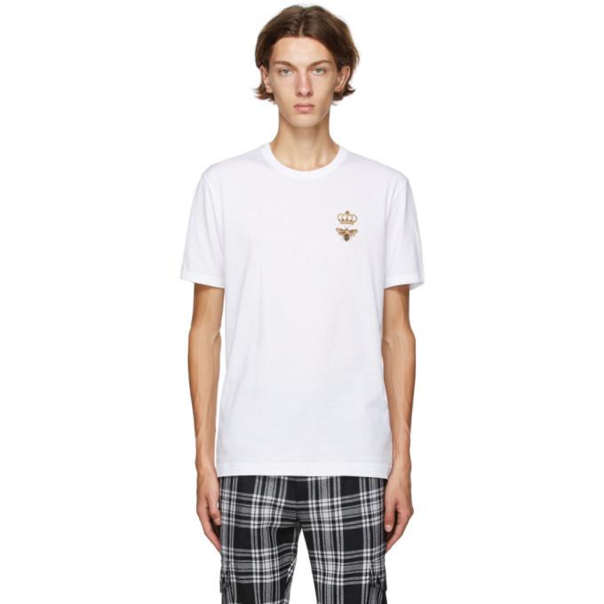 Photo: Dolce and Gabbana White DNA T-Shirt
