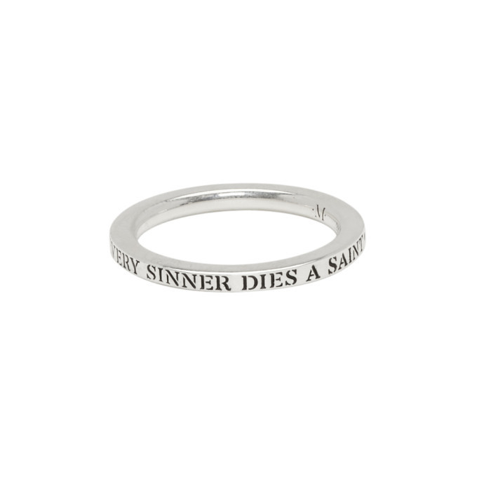 Photo: Martyre Silver Sinner Stack I Ring