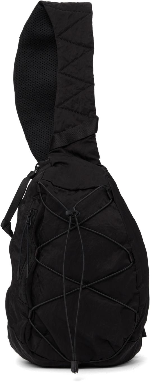 Photo: C.P. Company Black Nylon Crossbody Backpack