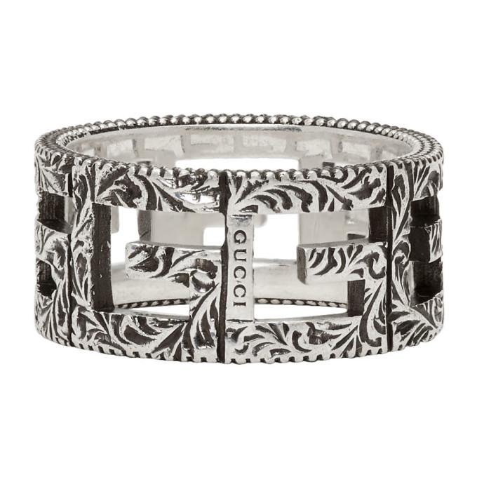 Photo: Gucci Silver Square G Ring