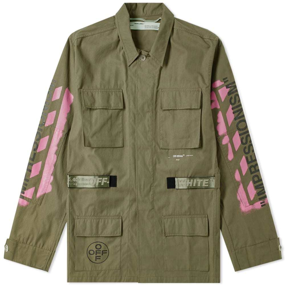 Photo: Off-White Diagonal Arrows Field Jacket