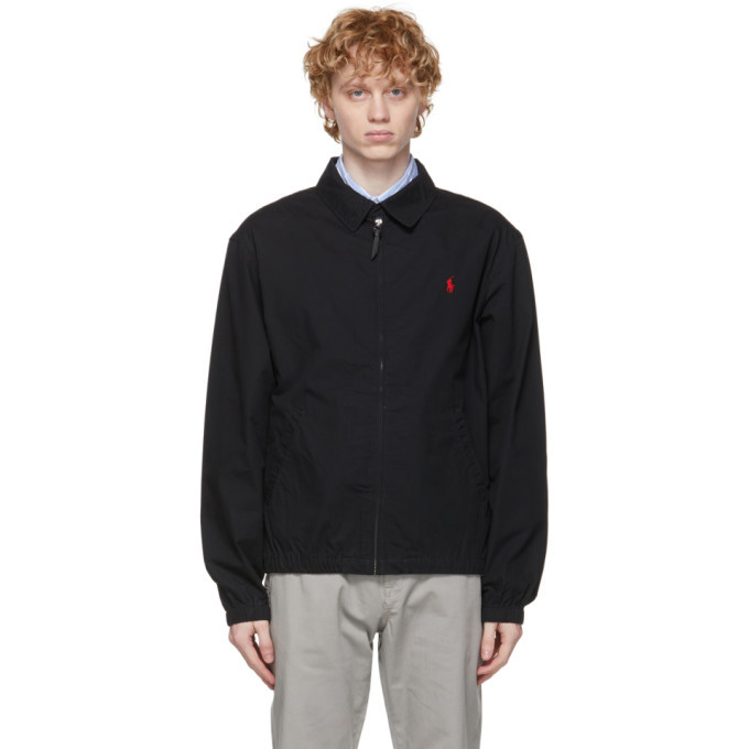 Photo: Polo Ralph Lauren Black Cotton Bayport Jacket