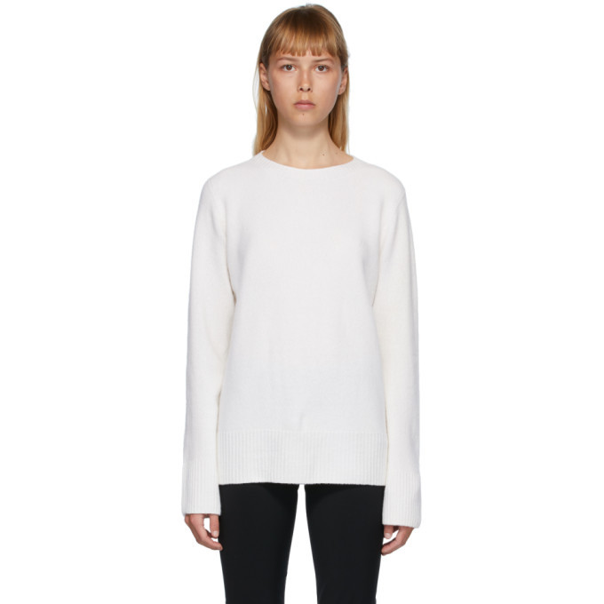 Photo: The Row White Sibel Sweater