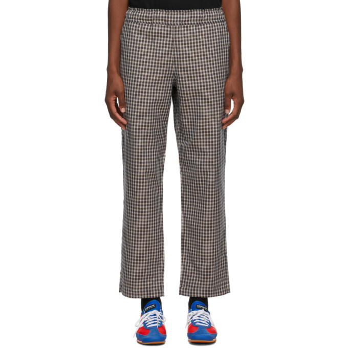 Photo: Rassvet Beige Plaid Trousers