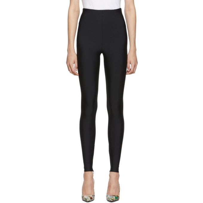 Photo: Versace Black Basic Leggings