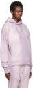 Martine Rose Purple Dye Classic Hoodie