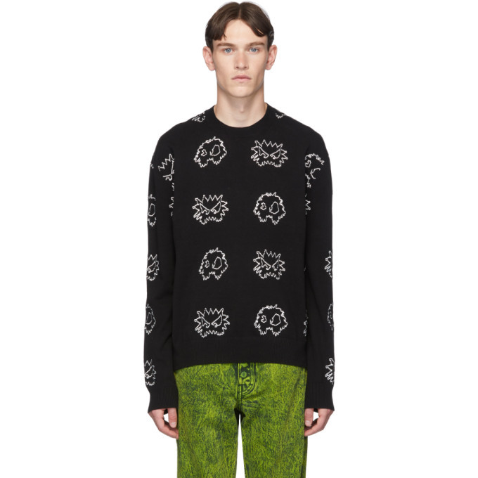 Photo: McQ Alexander McQueen Black Monsters Sweatshirt