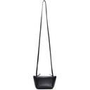 Acne Studios Black Small Leather Crossbody Bag