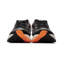 Asics Black and Orange Gel-Kinsei OG Sneakers