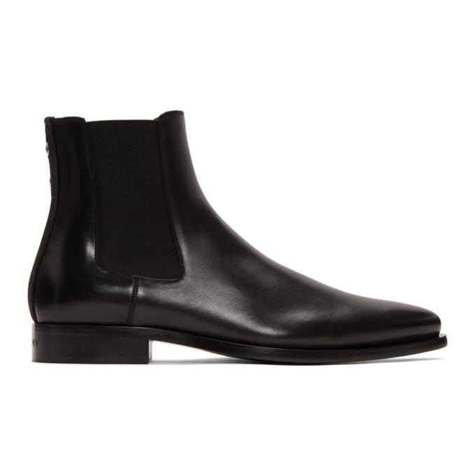 Photo: Givenchy Black Dallas Chelsea Boots