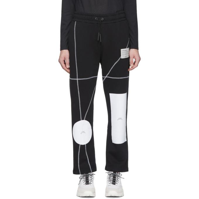 Photo: A-Cold-Wall* Black Geometric Lounge Pants