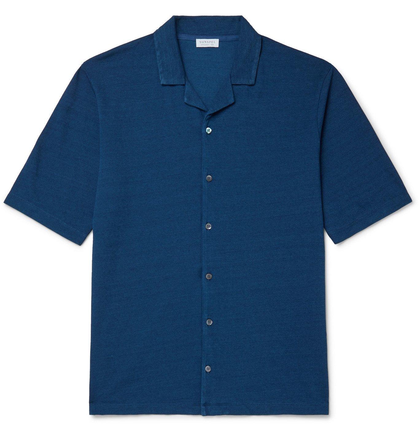 Photo: Sunspel - Camp-Collar Cotton-Piqué Shirt - Unknown