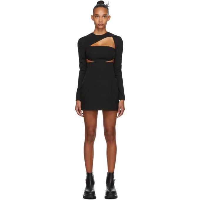 Photo: 032c Black Cut-Out Dress
